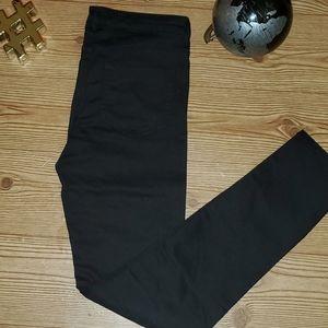 H&M DIVIDED BLACK PANTS WOMEN size12 PRELOVED